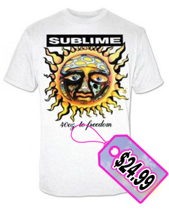 Sublime 40 Oz. To Freedom Men's T-Shirt