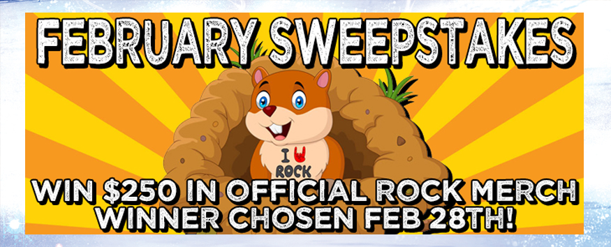 Enter the Rock.com February Sweepstakes