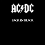 ACDC Back in Black Album Cover Photo