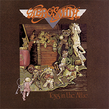 Aerosmith Toys in The Attic Picture