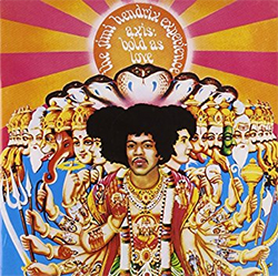 Jimi Hendrix album photo