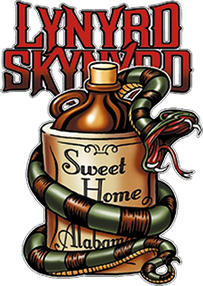 Lynyrd Skynyrd Sweet Home Alabama Sticker