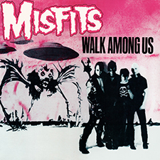 Misfits Album Cover of Walk Among us
