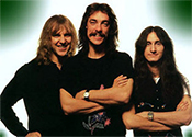 Rush Band Photo - Alex Lifeson - Neil Peart - Geddy Lee