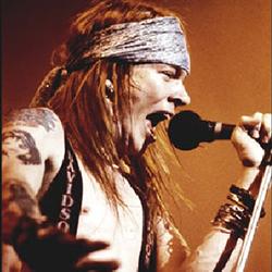 Guns N Roses Lead Vocalist Axl Rose