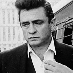 Johnny Cash Portrait