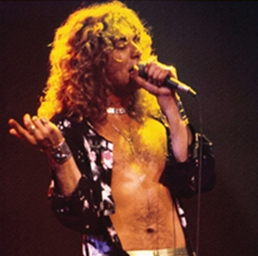 Led Zeppelin Lead Vocalist Robert Plant