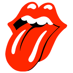 The Rolling Stones Classic Tongue Logo